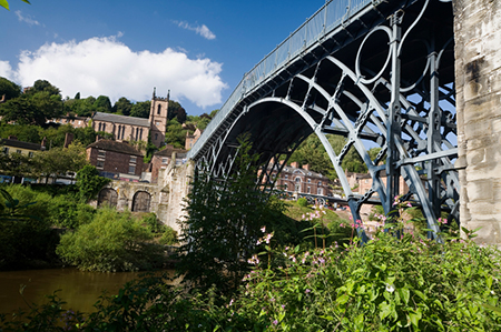 The Goldenball Inn is located in the heart of Ironbridge